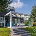 Ein Terrassendach für unsere Hortensien und uns